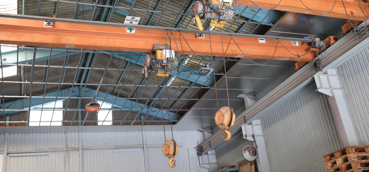 天井クレーン 2台