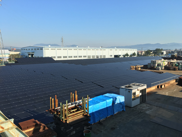 太陽光パネル設置4